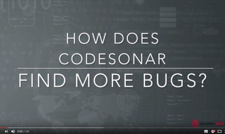 CodeSonar find bugs