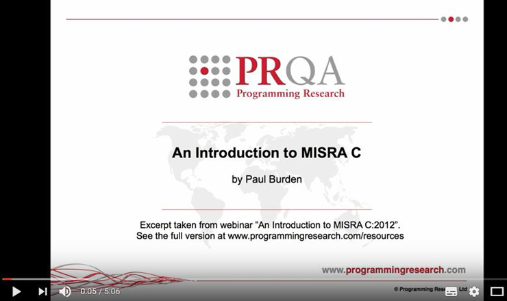 Introduction MISRA C